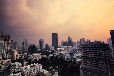 Amazing view of Bangkok (from D'Sens) by Eclectic Studio